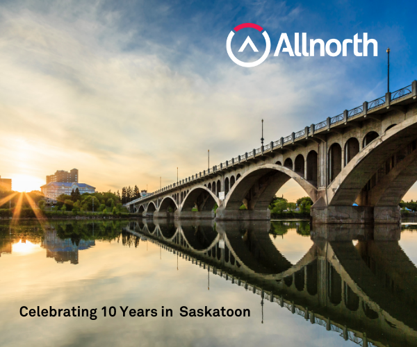 Allnorth Saskatoon Celebrates 10th Year of Progress